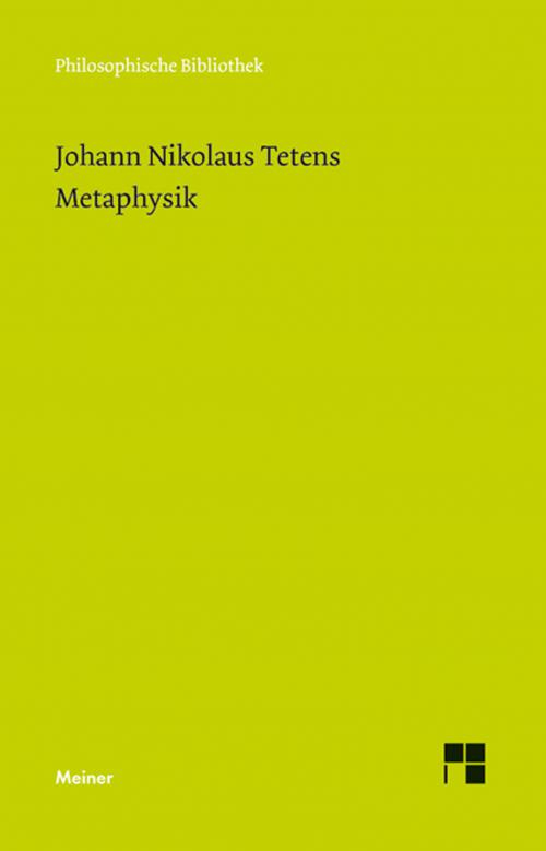 Metaphysik cover