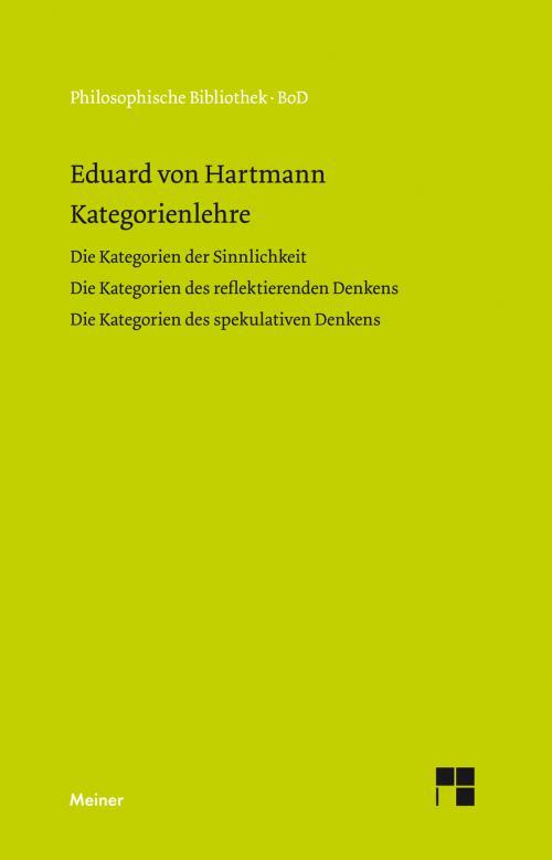 Kategorienlehre cover