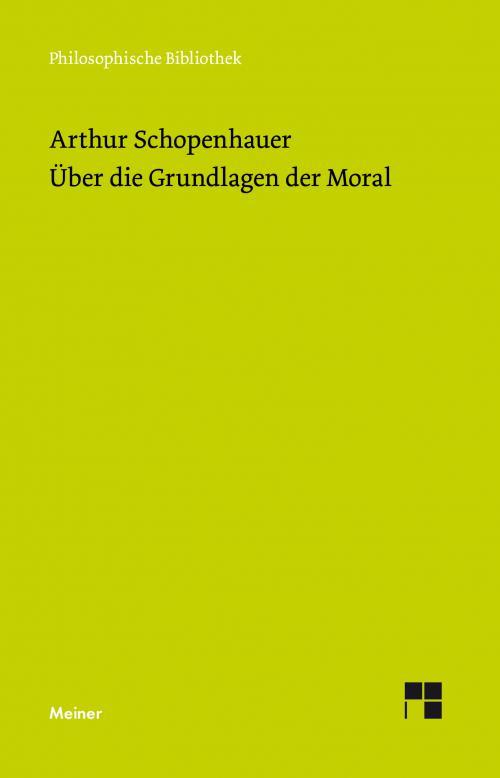 Über die Grundlage der Moral cover