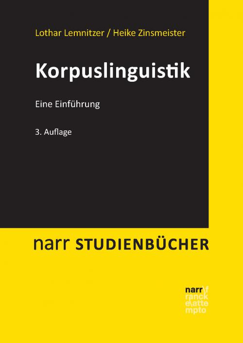 Korpuslinguistik cover