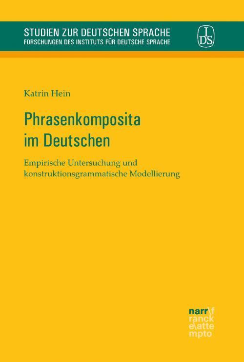 Phrasenkomposita im Deutschen cover