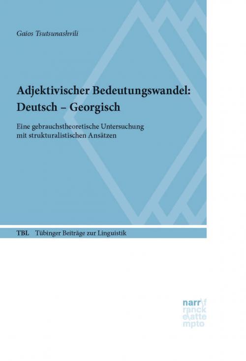 Adjektivischer Bedeutungswandel: Deutsch - Georgisch cover