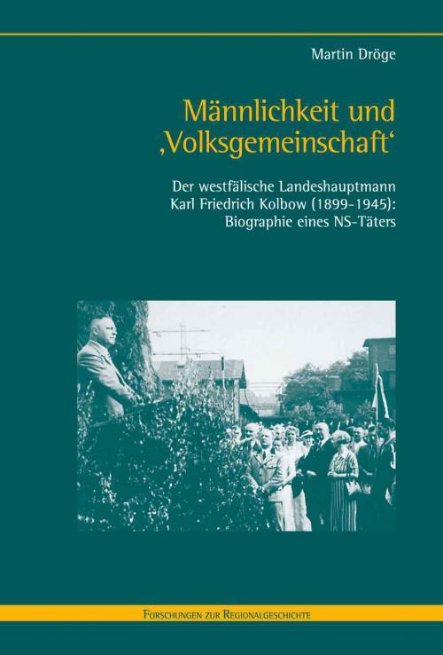 Männlichkeit und 'Volksgemeinschaft' cover