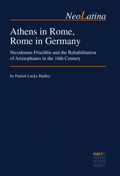 Athens in Rome, Rome in Germany cover