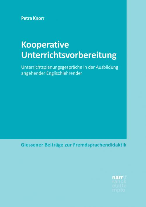 Kooperative Unterrichtsvorbereitung cover