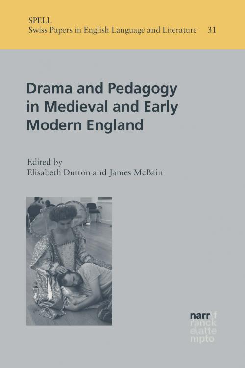 Drama and Pedagogy in Medieval and Early Modern England cover