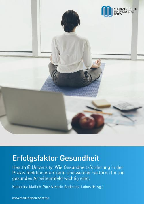 Erfolgsfaktor Gesundheit cover