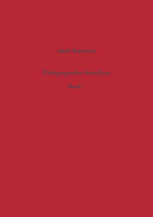 Pädagogische Schriften, Band 1 cover