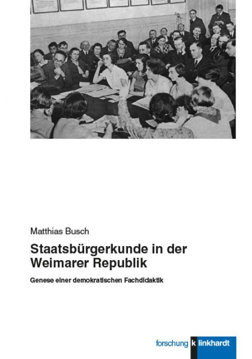 Staatsbürgerkunde in der Weimarer Republik cover