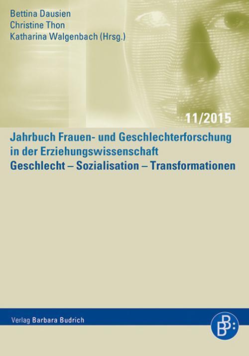 Geschlecht – Sozialisation – Transformationen cover