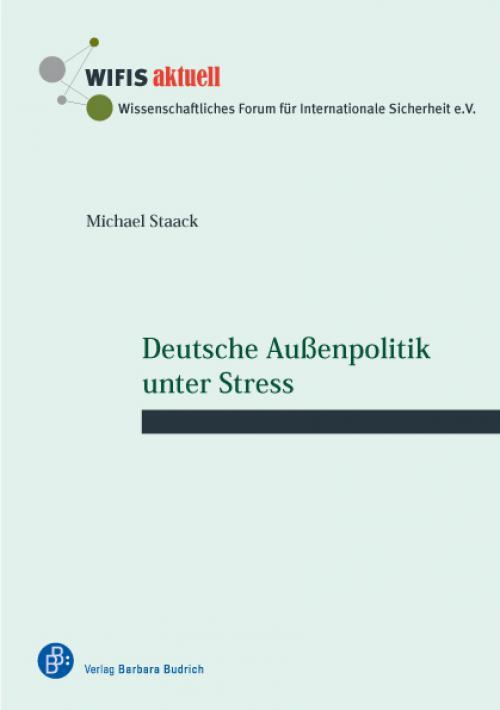 Deutsche Außenpolitik unter Stress cover
