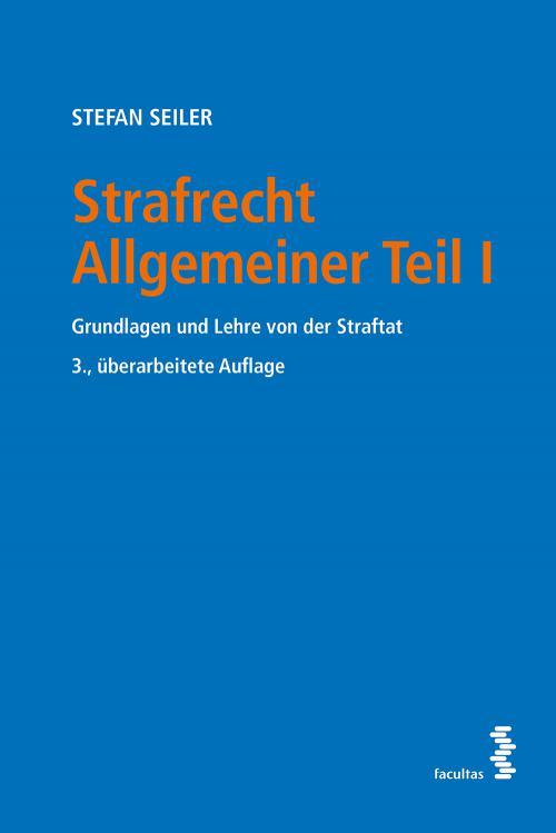 Strafrecht Allgemeiner Teil I cover
