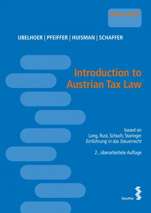Introduction to Austrian Tax Law cover