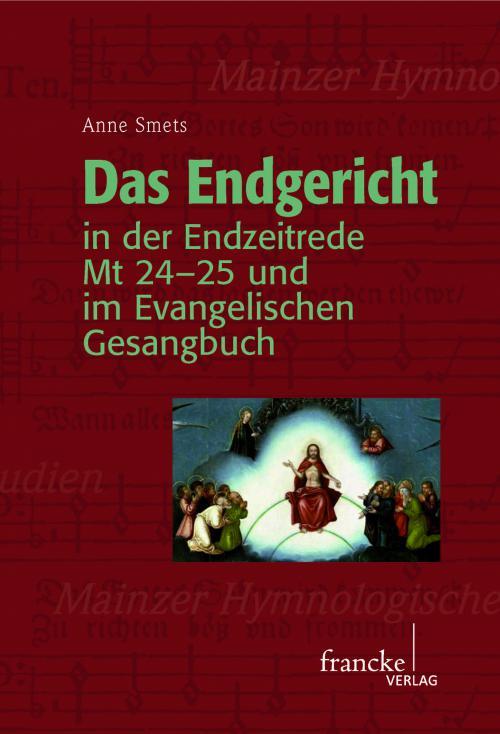 Das Endgericht in der Endzeitrede Mt 24-25 und im Evangelischen Gesangbuch cover