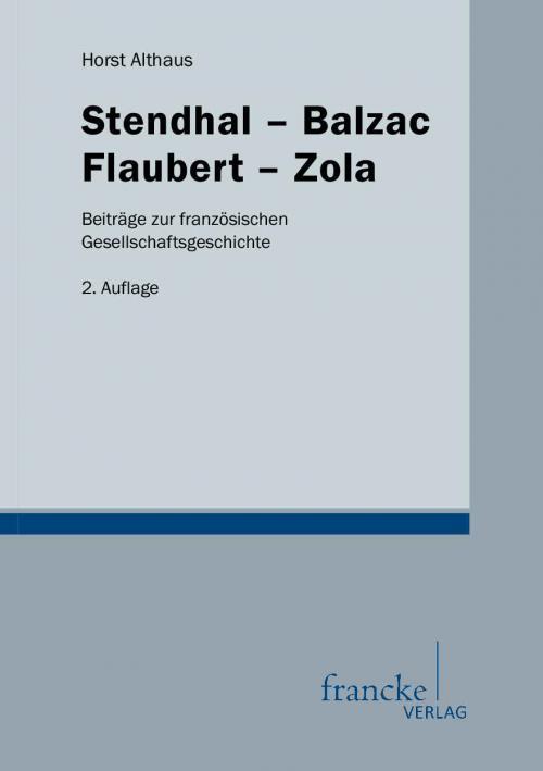 Stendhal-Balzac-Flaubert-Zola cover