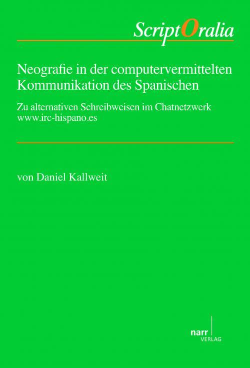 Neografie in der computervermittelten Kommunikation des Spanischen cover