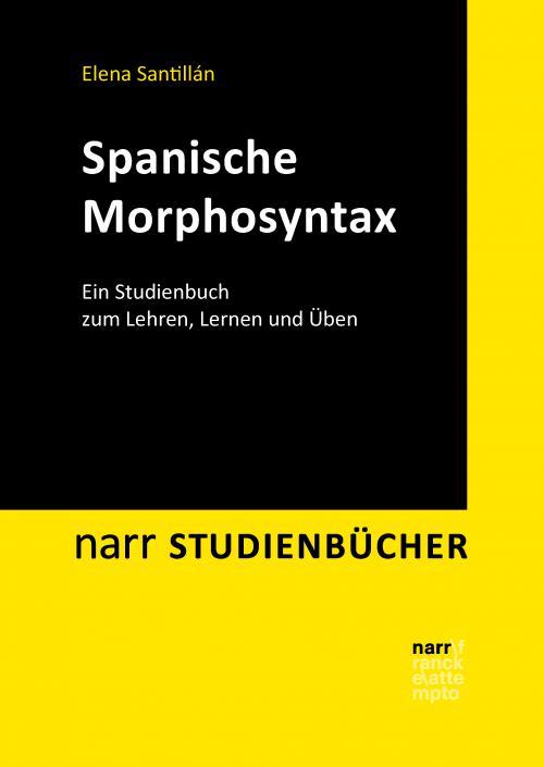 Spanische Morphosyntax cover