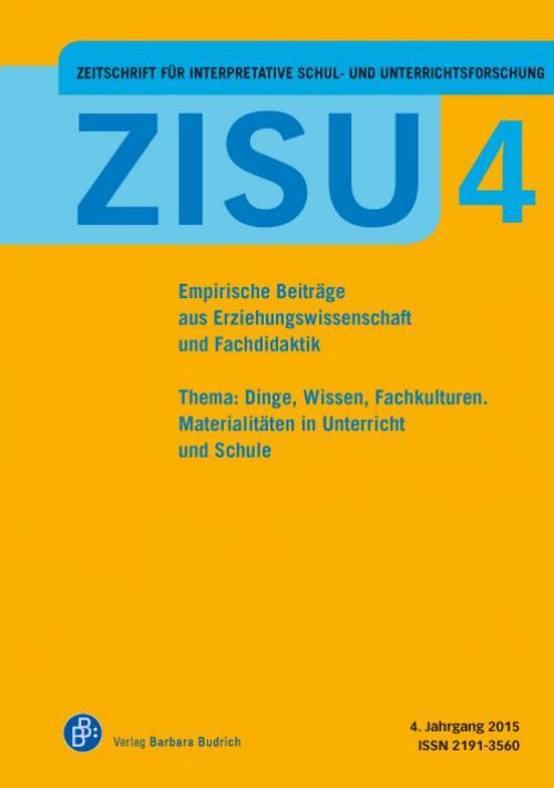 Zeitschrift für interpretative Schul- und Unterrichtsforschung 2015 cover