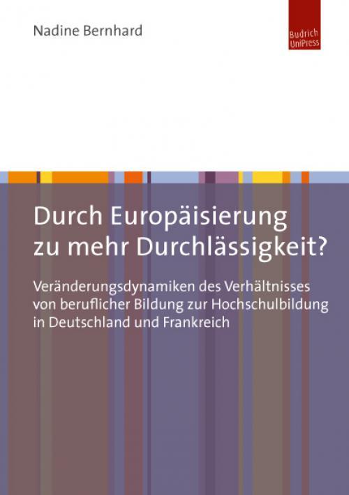Durch Europäisierung zu mehr Durchlässigkeit? cover