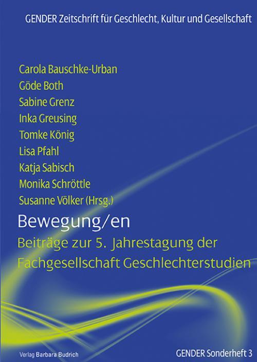 Bewegung/en cover