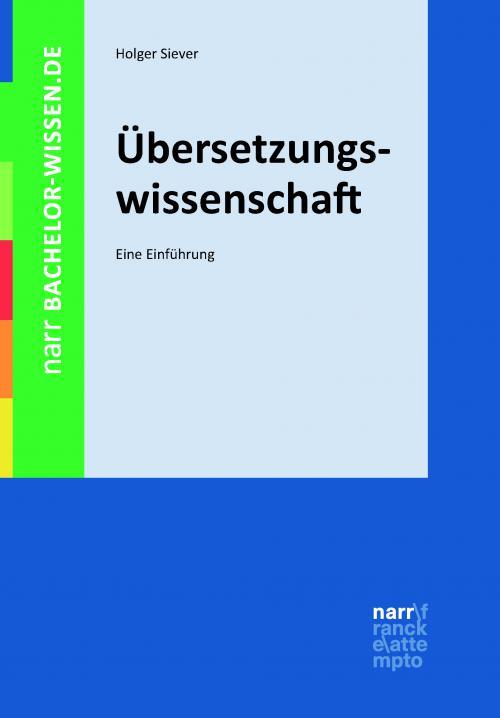 Übersetzungswissenschaft cover