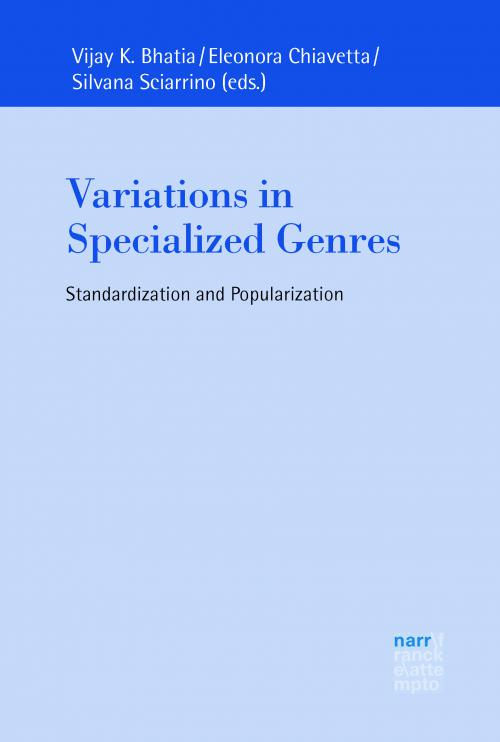 Variations in Specialized Genres cover