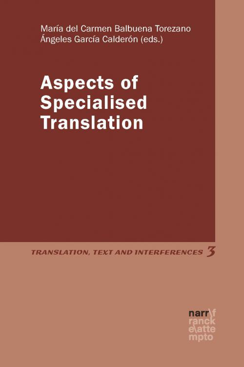 Aspects of Specialised Translation cover