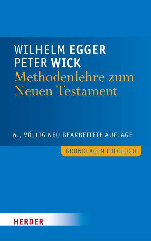 Methodenlehre zum Neuen Testament cover