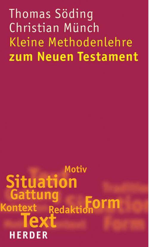 E-Book: Kleine Methodenlehre zum Neuen Testament cover