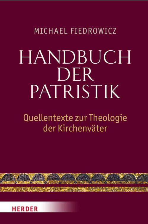 Handbuch der Patristik cover