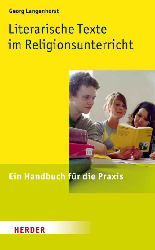 Literarische Texte im Religionsunterricht cover