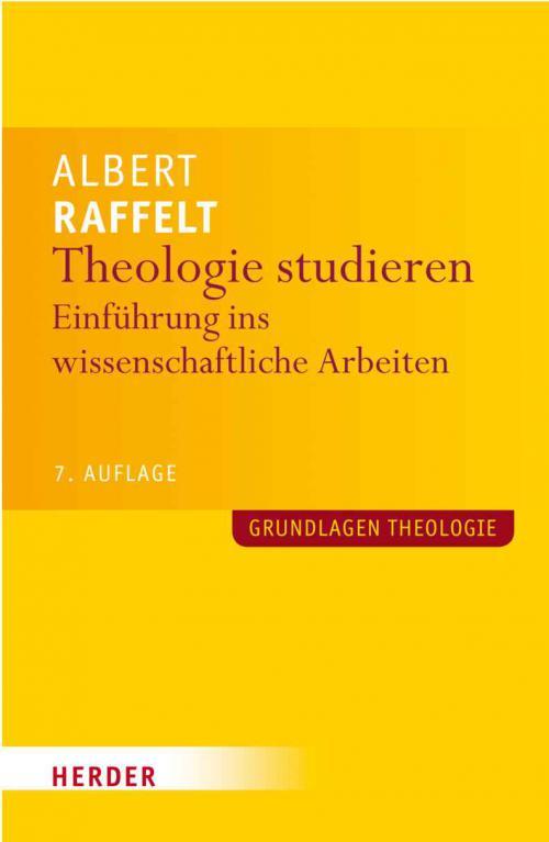 Theologie studieren cover