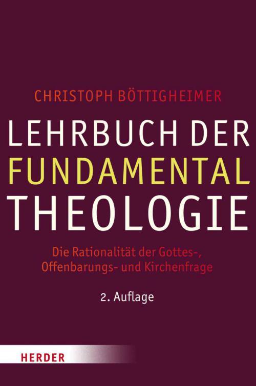 Lehrbuch der Fundamentaltheologie cover