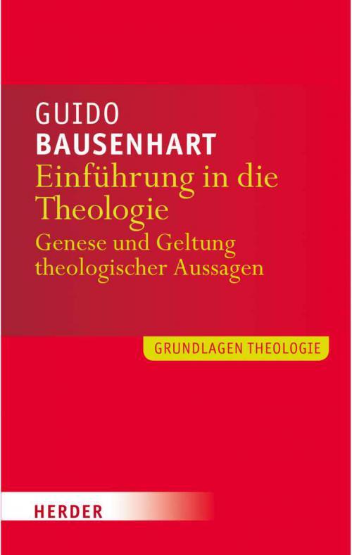 Einführung in die Theologie cover