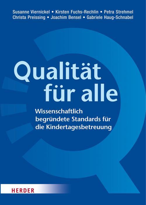Qualität für alle cover