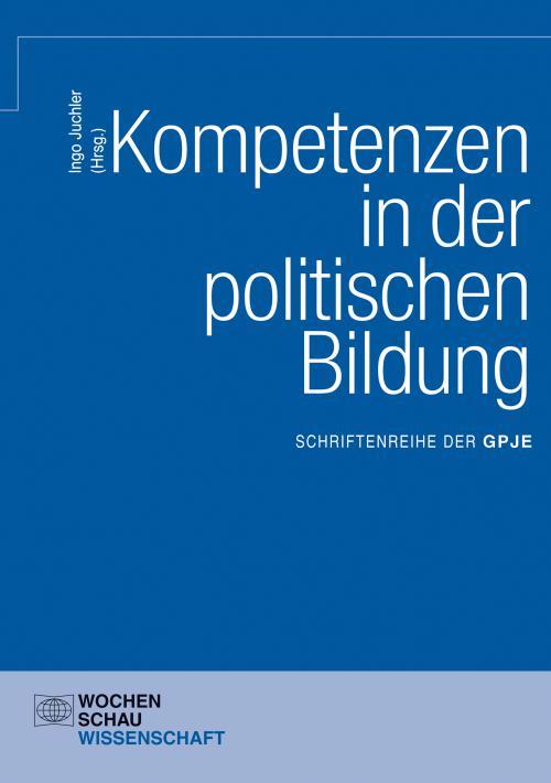 Kompetenzen in der politischen Bildung cover