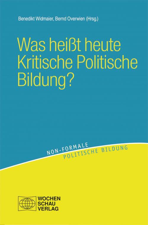 Was heißt heute Kritische Politische Bildung? cover
