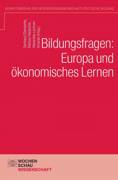 Bildungsfragen: Europa und ökonomisches Lernen cover