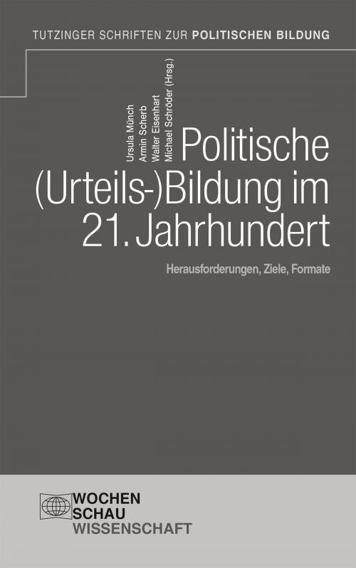 Politische Urteilsbildung im 21. Jahrhundert cover