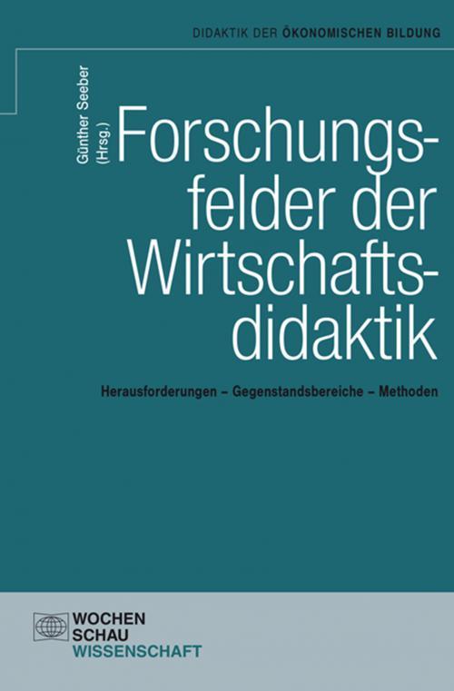 Forschungsfelder der Wirtschaftsdidaktik cover