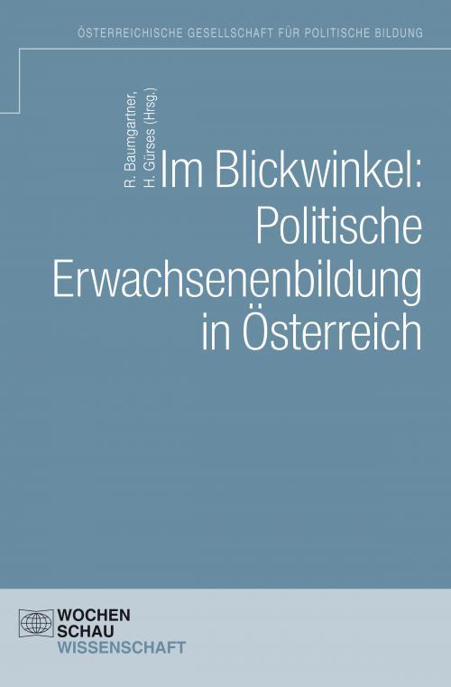 Im Blickwinkel: Politische Erwachsenenbildung in Österreich cover