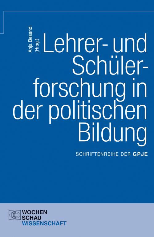 Lehrer- und Schülerforschung in der politischen Bildung cover