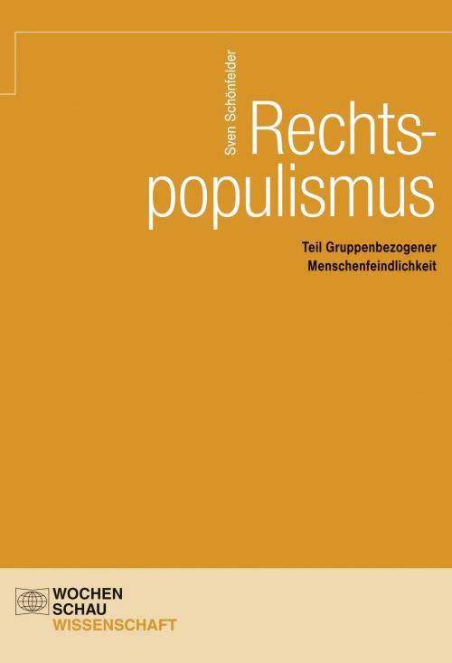 Rechtspopulismus cover