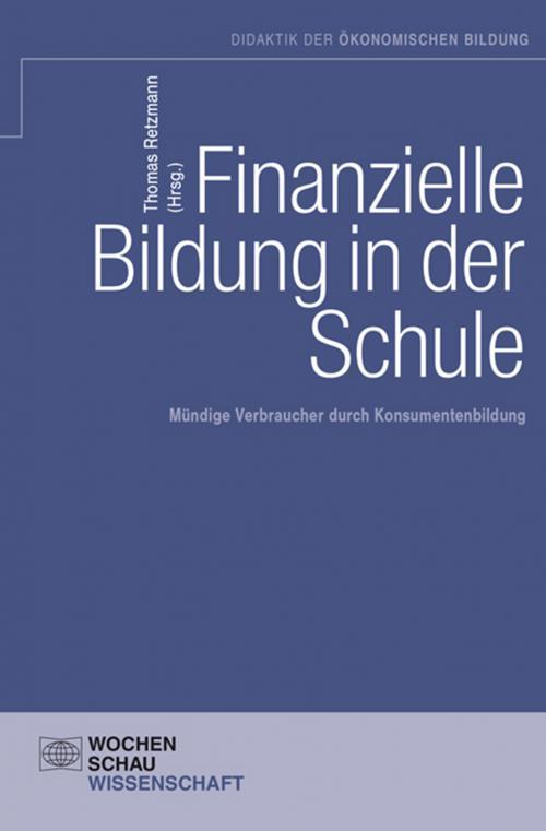 Finanzielle Bildung in der Schule cover