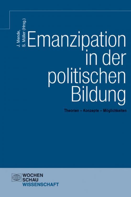 Emanzipation in der politischen Bildung cover