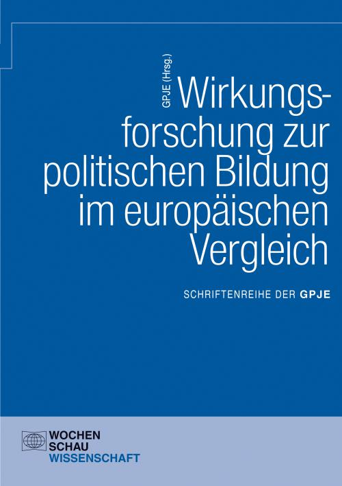 Wirkungsforschung zur politischen Bildung im europäischen Vergleich cover