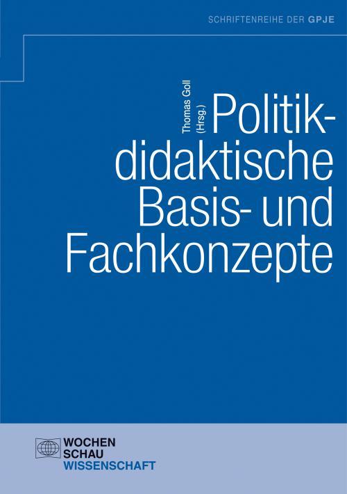 Politikdidaktische Basis- und Fachkonzepte cover
