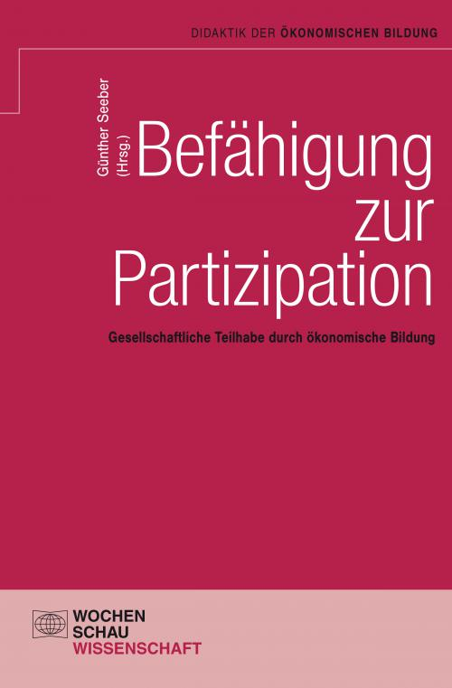 Befähigung zur Partizipation cover