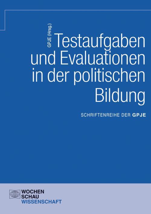 Testaufgaben u. Evaluationen in der politischen Bildung cover
