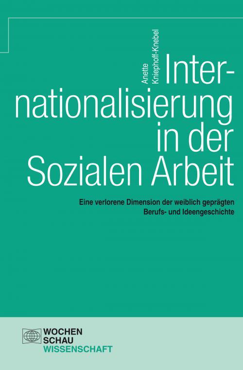Internationalisierung in der Sozialen Arbeit cover